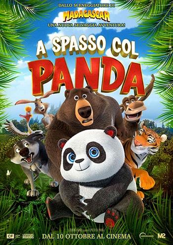 Poster film A spasso col panda