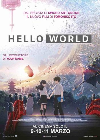 Poster film Hello World