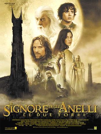 Poster film Il Signore degli Anelli - Le due torri