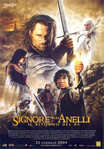 Poster film Il Signore degli Anelli - Il ritorno del Re